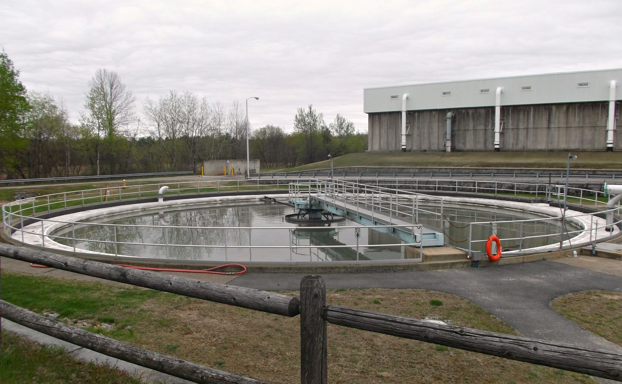 Hall Street Wastewater Treatment Plant