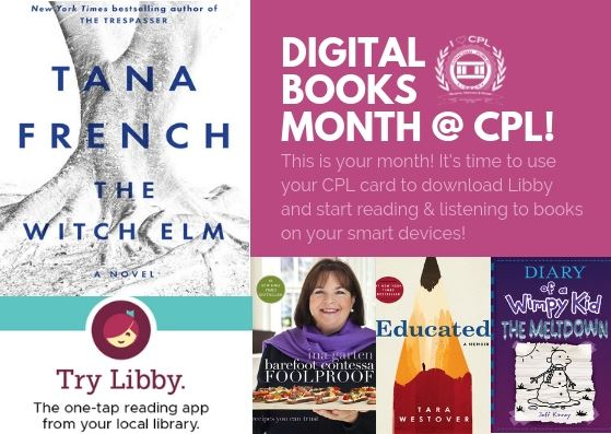 Digital Books Month Postcard - Libby