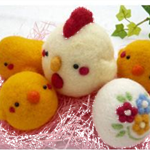 Needle Felting Chicks