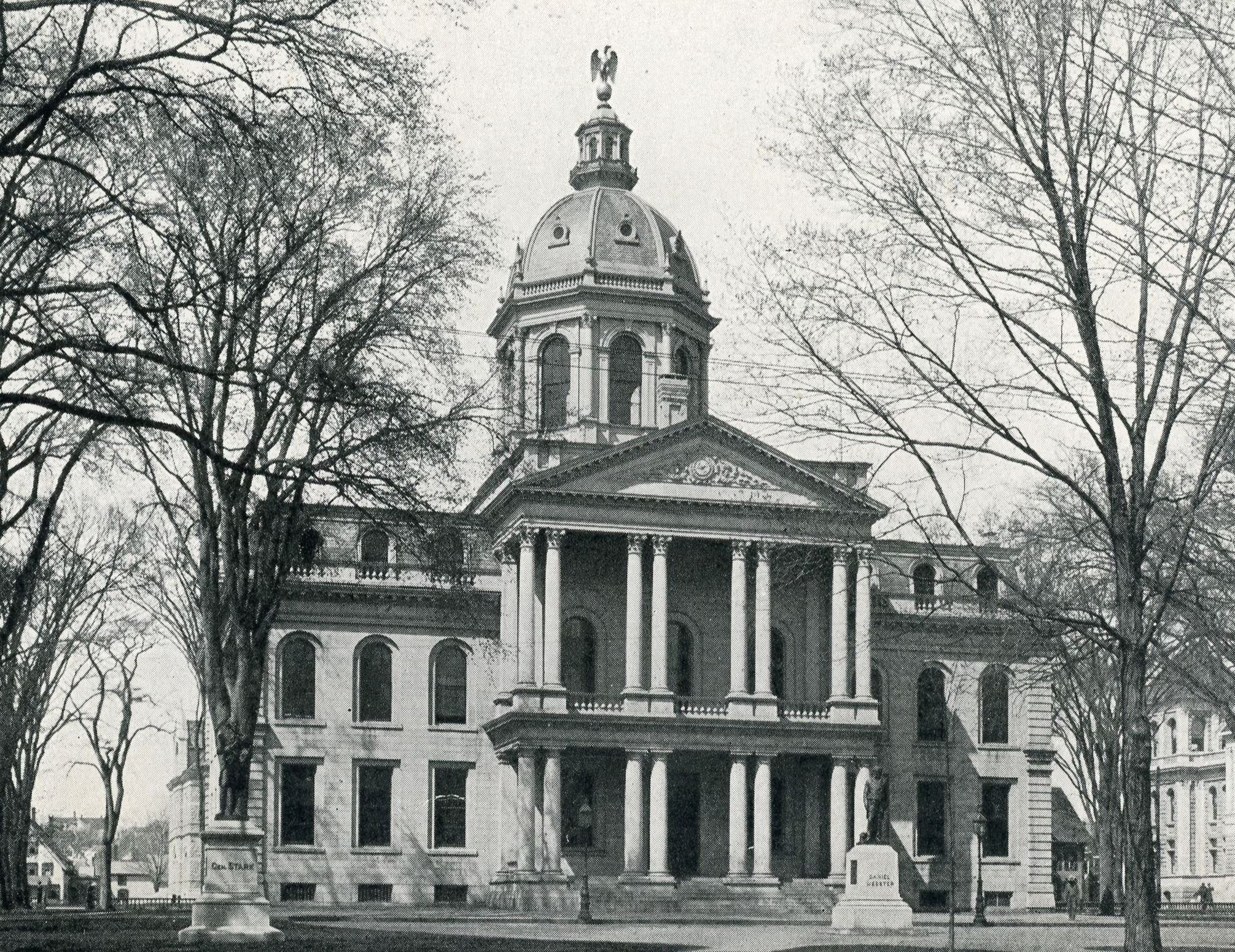 Exterior View of the State House