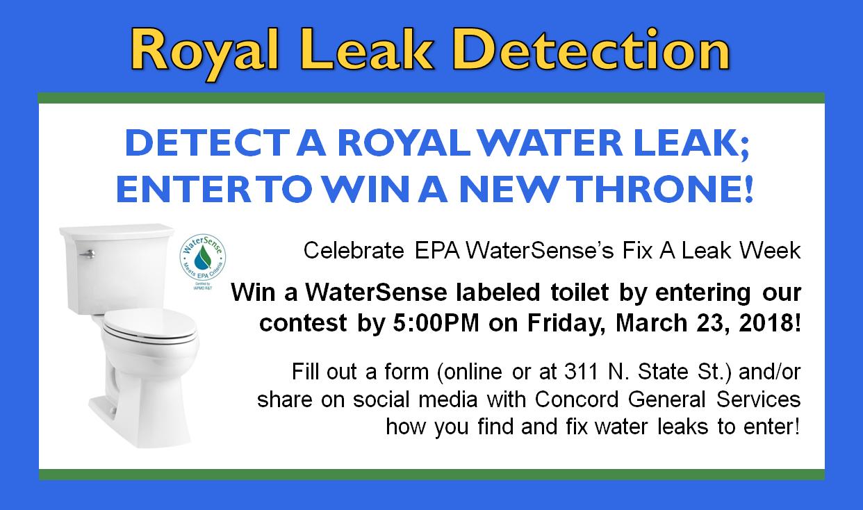 Royal Leak Detection Contest