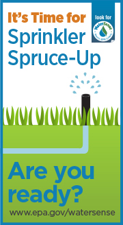 EPA WaterSense Sprinkler Spruce Up