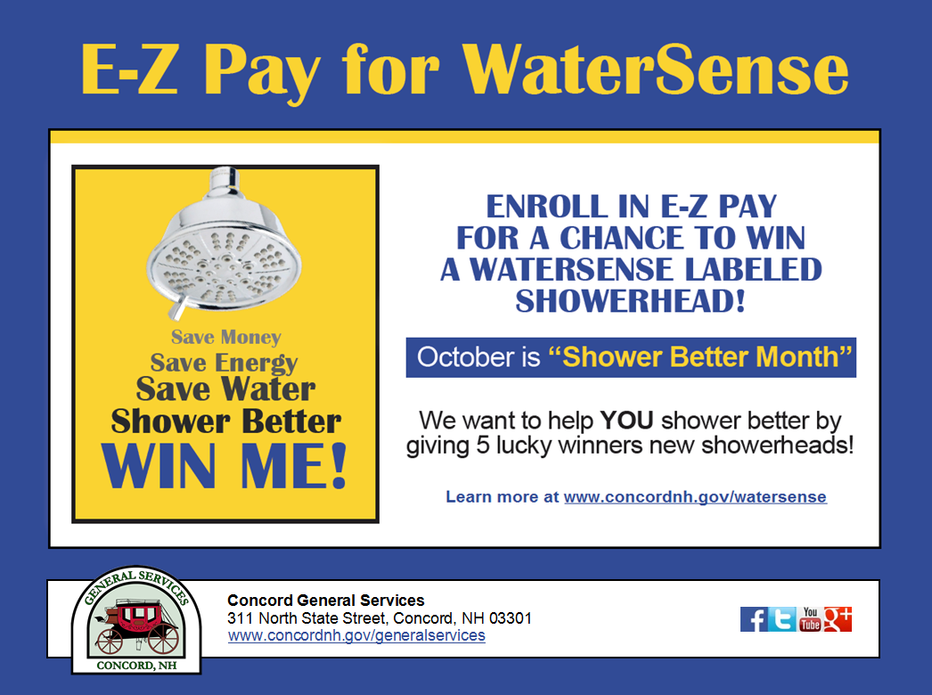 E-Z Pay for WaterSense 2016