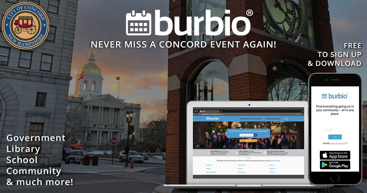 Concord NH Burbio Email Image