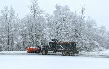 Winter Laborer Snow Plow Operator