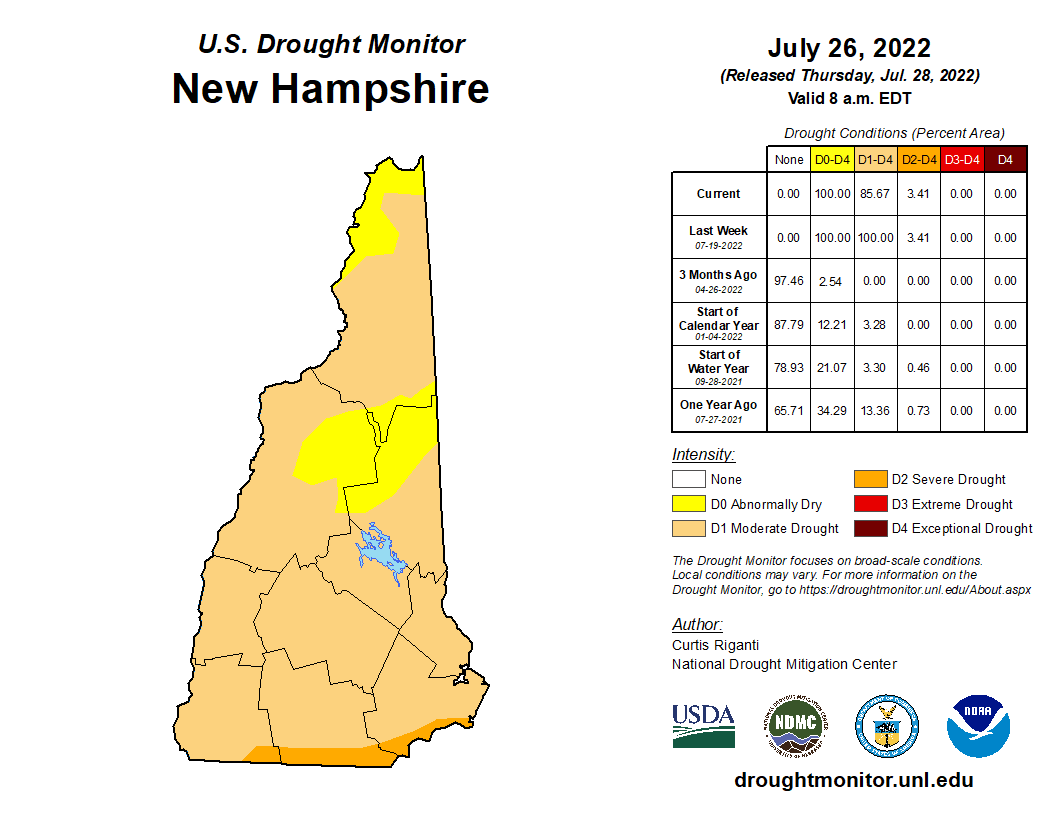 NH Drought Map 91720 Opens in new window
